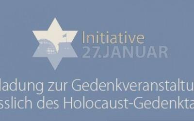 Der Holocaust darf nie vergessen werden