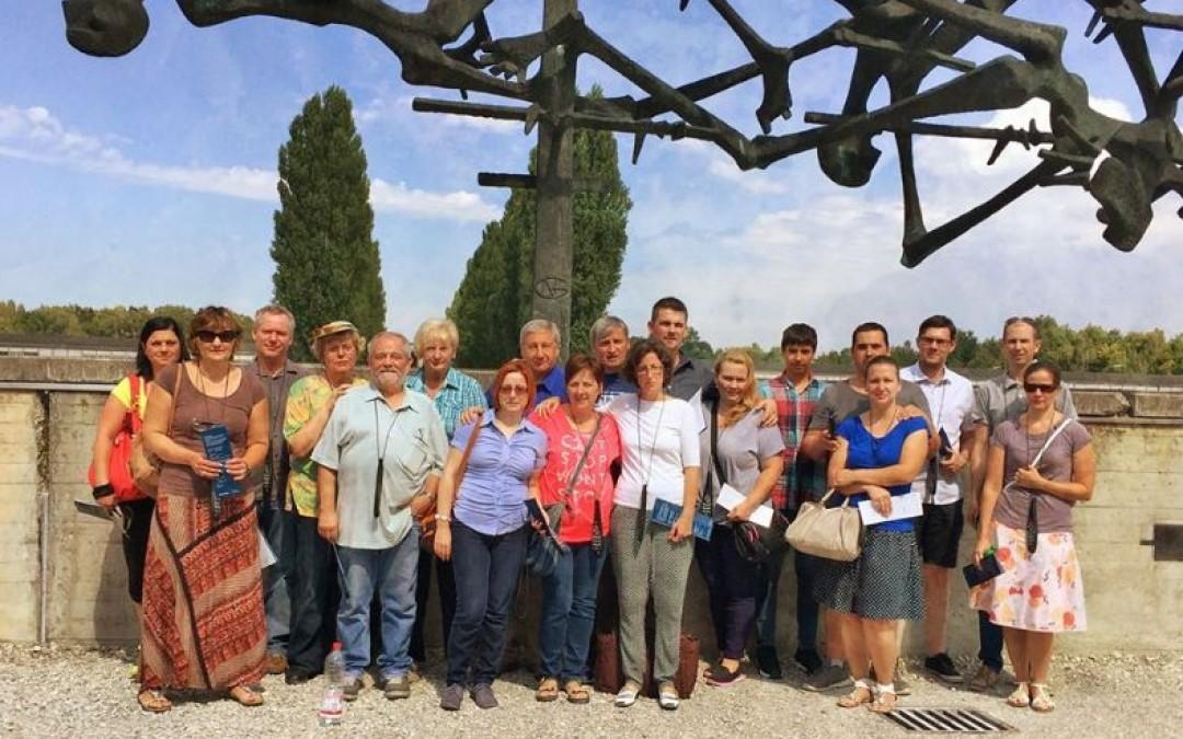 Tiszteletadás Dachauban